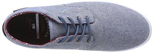 Lakai Camby Mid-M - Zapatillas de skateboarding para hombre Grau (Stonewash Chambray)
