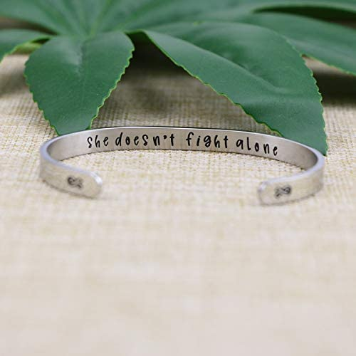 Joycuff Bracelets for Women Mantra Cuff Bangle Inspirational Jewelry Friend Encouragement Gift for Her Motivational Engraved 2