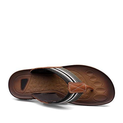 Scarpe da con Infradito Cricket Cachi da Uomo Infradito Classico Sandalo Infradito w0dqX8qn