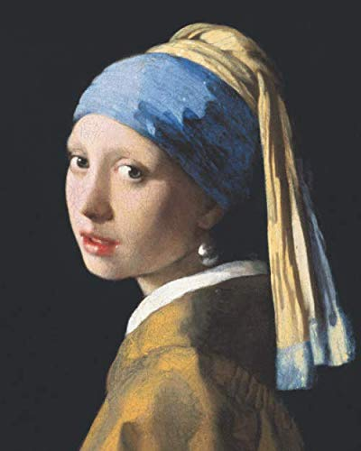 Girl with a Pearl Earring Primary Composition Book: Large Draw and Write Ruled Johannes Vermeer Story Journal | With Drawing Space for Grades K-2 & ... to Early Childhood | Artistic Dutch Master (Girl With The Pearl Earring Book)