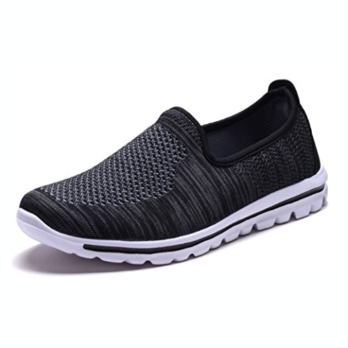 Shoes Black Foam Women's Sneakers Mesh on Memory Walking Slip DailyShoes n8YvH0wSqn