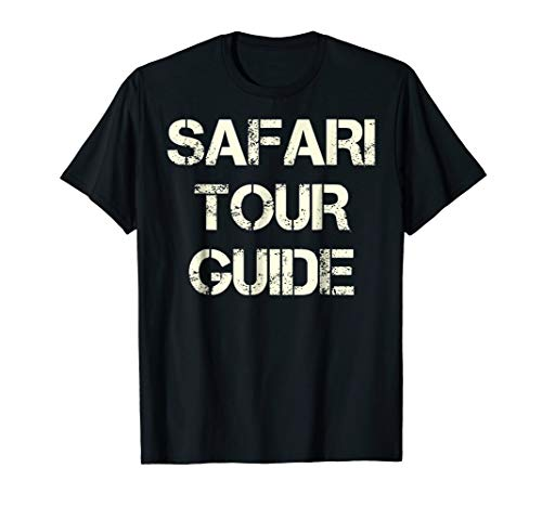 Safari Tour Guide | Themed Costume Party Halloween Tee -