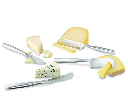 Boska Holland Cheese Set Pro Collection includes four knives: Parmesan cheese knife, hatchet, cheese knife and a Gorgonzola knife by Boska Holland (Image #3)