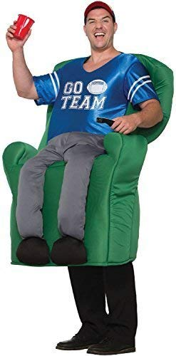 Adult Step In Armchair Athlete Soccer Dad Sports Event Fan Stag Do Night Party Fancy Dress Costume Outfit