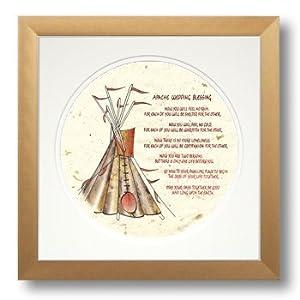 Amazon Com Apache Wedding Blessing Framed Calligraphy