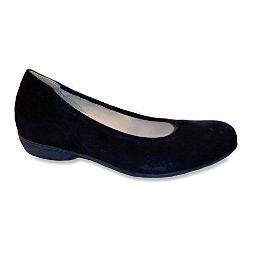 Durea Womens Mary Chaussures Chaussures Daim Noir