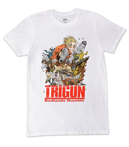 Loot Crate Trigun Badlands Anime Men's T-Shirt Exclusive (XL)