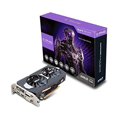 Sapphire DUAL-X R9 270 2GB GDDR5 With Boost & OC (PCI-e, memoria de 2 GB GDDR5) - Tarjeta Gráfica
