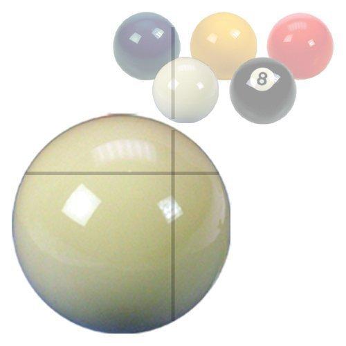 ClubKing - Bola de billar (47,6 mm de diámetro), color blanco ClubKing Ltd