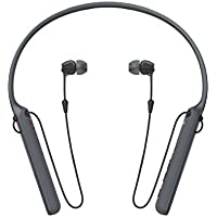 Sony WI-C400 Wireless In-Ear Headphones with up to 30 Hours Battery Life - Black