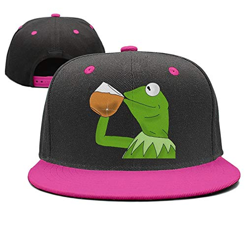 1934550276c SYWHPS Kermit The Frog Dad Hat Cap Sipping Sips Drinking Tea Champion  Lebron Costume - Buy Online in Oman.