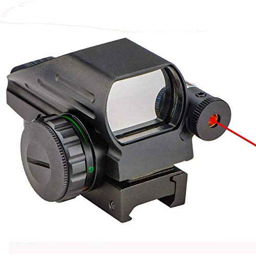 ea635abbbbc33 CVLIFE 1x22x33 Reflex Sight Red and Green 4 Reticle Dot Sight with ...
