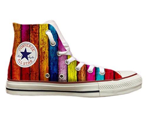 Multicolore Zapatillas De Natussi Lona Mujer Para Stefano FARSq7wF