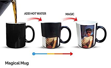 buy d y color changing magic photo mug personalized with photo