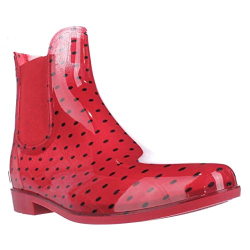 Women's Tally-BO-R, Red/Modern Navy, 11 B US (Ralph Lauren Rain Boots)