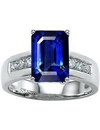 Classic 9x7mm Octagon Emerald Cut Ring