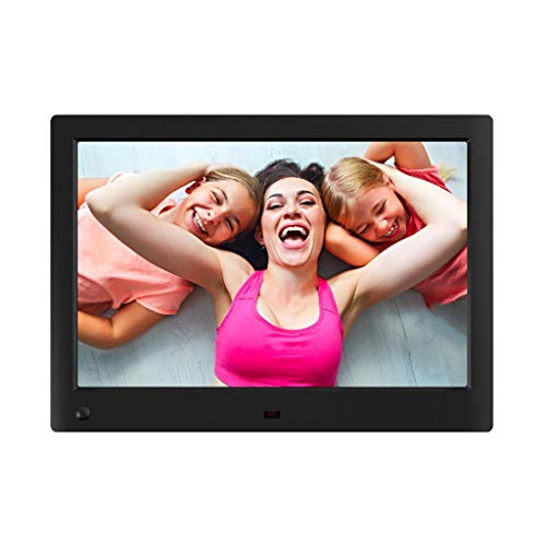 NIX Advance 10 Inch Widescreen Digital Photo Frame X10H - Digital Picture Frame with 16:10 IPS Display, Motion Sensor, USB and SD Card Slots and Remote Control