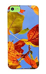 MMZ DIY PHONE CASEEllent ipod touch 5 Case Tpu Cover Back Skin Protector Autumn Leaves For Lovers