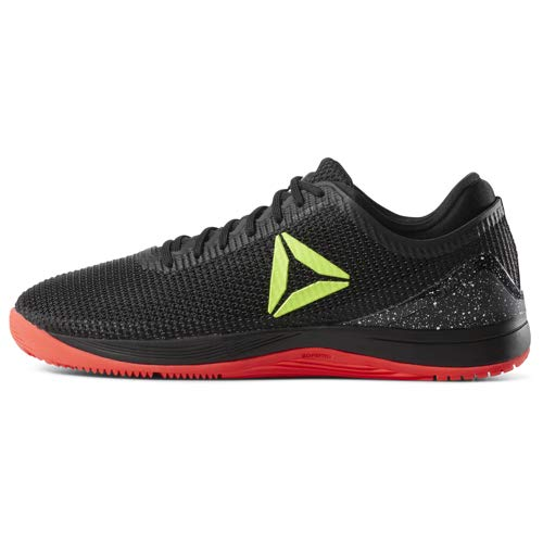 Reebok Men's CROSSFIT Nano 8.0 Flexweave Cross Trainer, Black/Neon Red/Neon Lime/White, 6.5 M US by Reebok (Image #6)