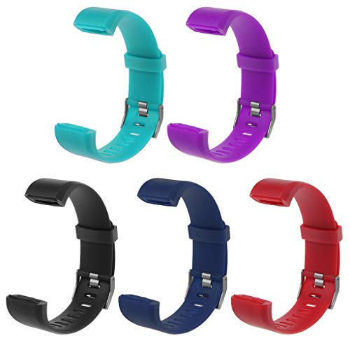 Itlovely ID115 Plus Wrist Band Strap Replacement Silicone Watchband Smart Watch Bracelet by Itlovely (Image #1)