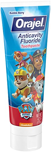 Orajel Paw Patrol Anticavity Fluoride Toothpaste 4.20 - Bubble Childrens