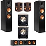 Klipsch RP-280F 5.2 Home Theater System with 2 BIC Acoustech PL-200II Subwoofers