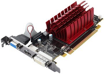 Radeon HD 5450 Graphics 512MB DDR3 (DVI-I, DP) Graphics Card, PCI Express x 16, Display Port, DVI Port, Standard Profile, 1 Year Warranty (Certified Refurbished)