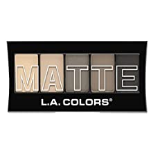 L.A. Colors Matte Eyeshadow - Nude Suede