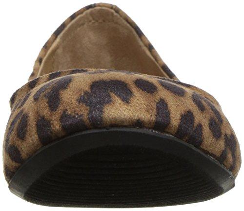 Topline Damen Ovalia Ballet Flat Leopard