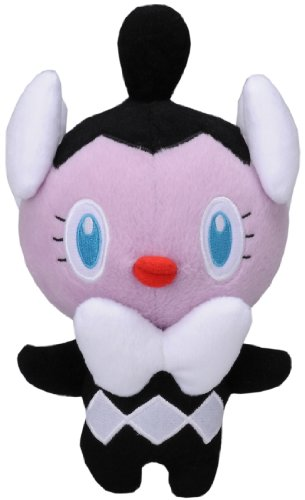 Pokemon Best Wishes Plush Doll Takaratomy - N-20 - Gothimu/Gothita