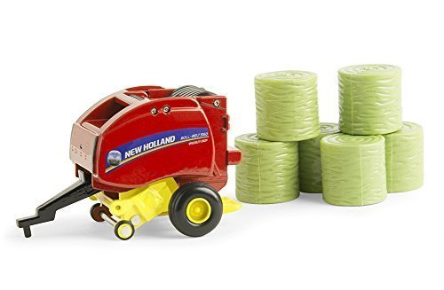 Ertl New Holland Roll Belt 560 Round Baler Vehicle (1:64 Scale) by (New Holland Round Baler)