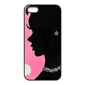 Beautiful mature lady Cell Phone Case for Iphone 5s