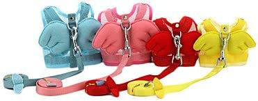 Tinte rojo/azul/rosa/amarillo/textil esponja arneses para perros ...