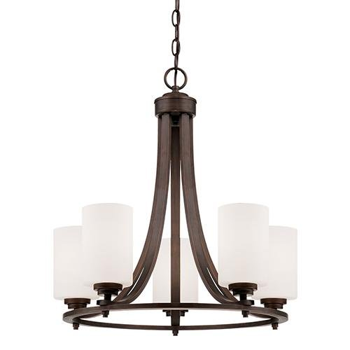 Millennium Lighting 7255-RBZ 5-Light Chandelier
