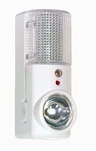 Satco S75/046 Emergency Flashlight/Night Light, Tubular