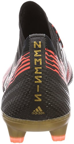 Adidas Mannen Nemeziz 17.1 Fg Voetbal Schoenen, Wit / Zwart, 43 1/3 Eu Veelkleurige (cblack / Cblack / Solred Cp8932)
