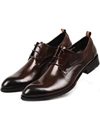 Men's Two-tone Leather Formal Tuxedo Dress Shoes Oxford Boots Classic Mens Shoes
