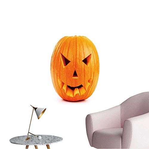 Wall Painting Halloween Pumpkin Isolated on White High-Definition Design,28
