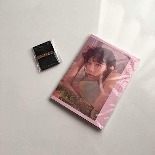 少女時代 テヨン rersona ピンバッジ ブックレット   B07Q6T6H8J
