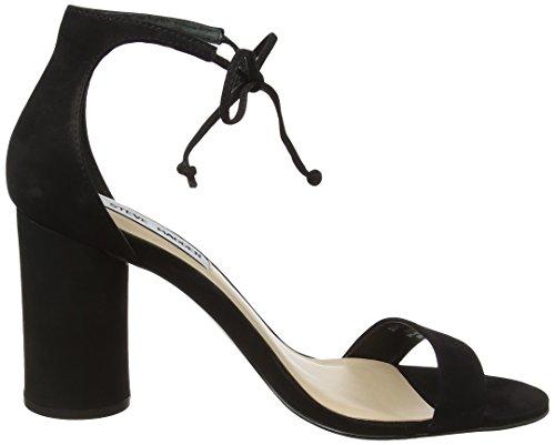 Donna black Scarpe Nero Col Tacco Madden Shayyy Sandal Steve 01001 8xqwaYtR