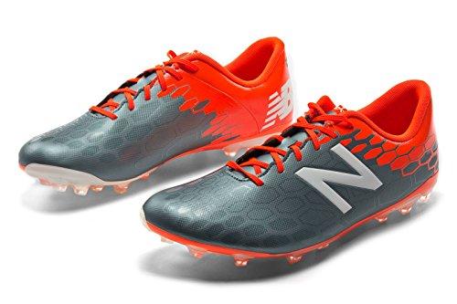 Bota de fútbol New Balance Visaro 2.0 Control AG Grey-Alpha orange Grey-Alpha orange