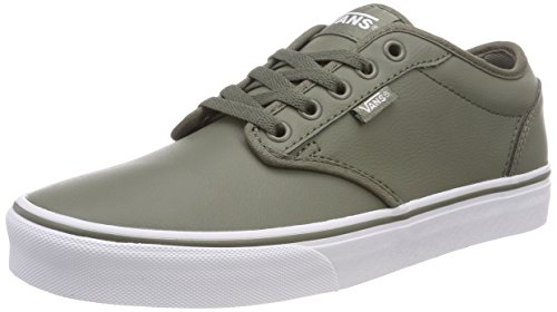 Dusty Tumble Vans para Leather Atwood Olive Classic Verde U0n Zapatillas Synthetic Hombre White TwqRzxaA8w