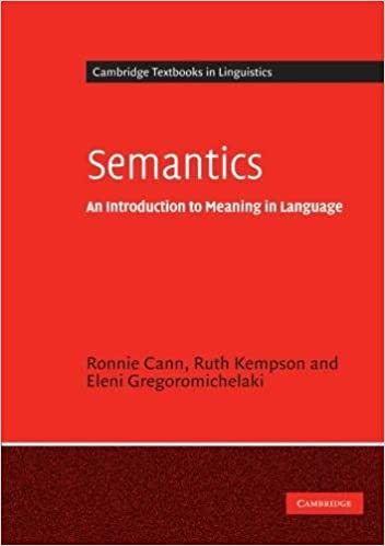 What is semantics? Introduction to the topic