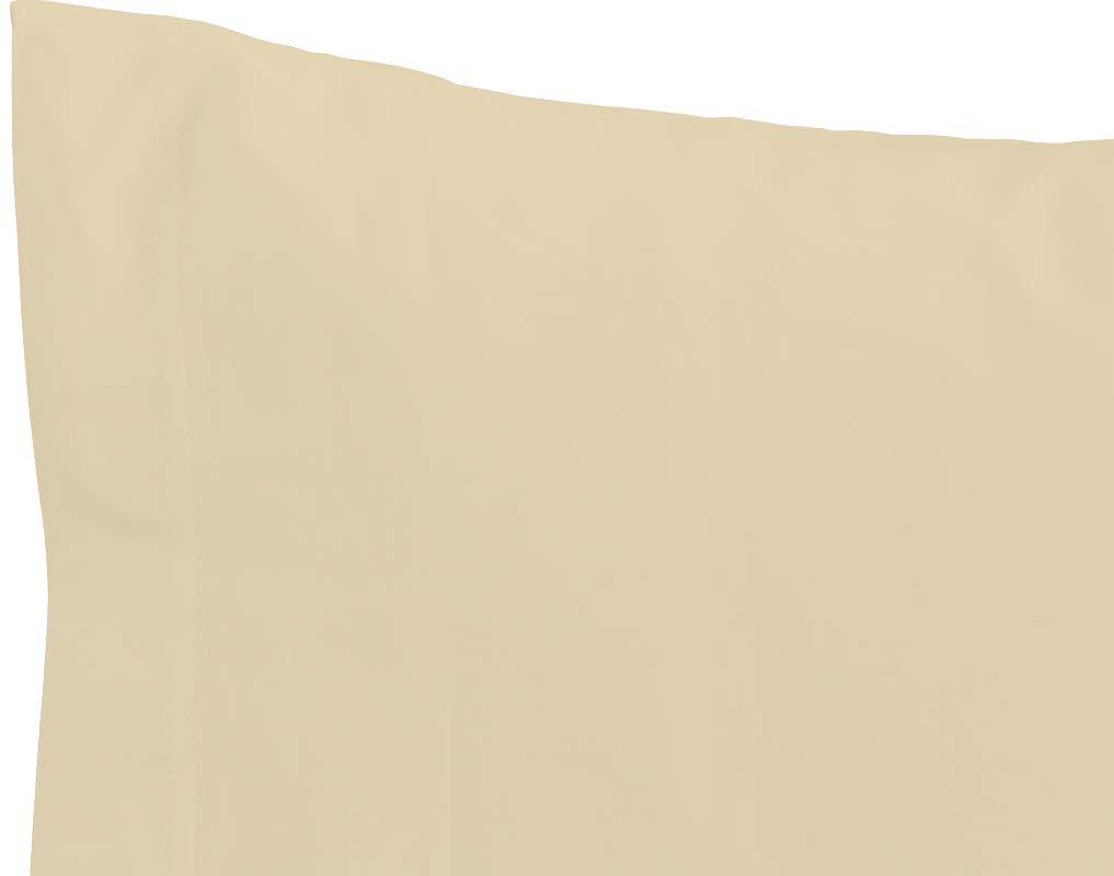 IRIDE by PERLARARA Set 2 Kissenbez/üge Wiege Baby Babybett 100/% Reine Baumwolle 40x60 waschbar beige