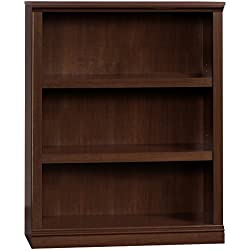 Sauder 412808 Select 3-Shelf Bookcase, Select Cherry Finish
