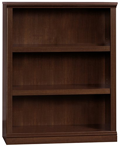 Palladia Collection - Sauder  Sauder Select 3-Shelf Bookcase, Select Cherry Finish