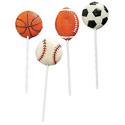 Sport Ball Lollipops Dozen (Sports Favors)