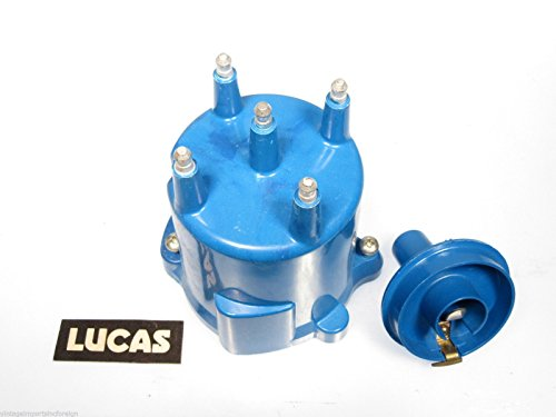Lucas Distributor Cap & Rotor Kit Fits Ford Fiesta 4 (Lucas Distributor Cap)