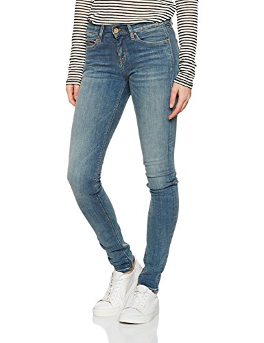 Mid Nora Towst Bleu Washed Tommy Rise Jeans Stretch Toxic Skinny Femme xaq5w1I4w