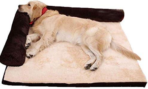 RuiHuang Cama de Perro Suave y extraíble para Perros Cama de ...